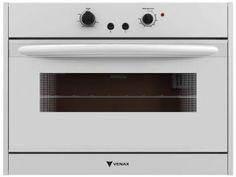 Forno a Gás de Embutir Venax Bianco 90L - com Grill Elétrico e Forno Easy Clean