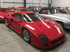 Ferrari F40: The vast majority of the cars have hardly been driven - with one of the Lambo...