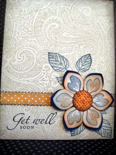 Get Well Blolssom by Grandma Overboard - Cards and Paper Crafts at Splitcoaststampers
