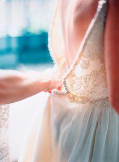 sunlit lace details