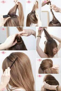 Puff Hairstyles Step By Step Guide Hair Puff Hair Down Hair
