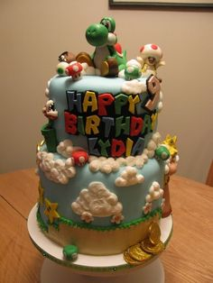 The mom who baked this unreal cake. | 12 Reasons Gamers Make The Best Parents