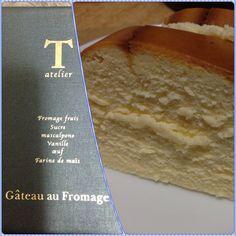 アトリエ タタンのチーズケーキ