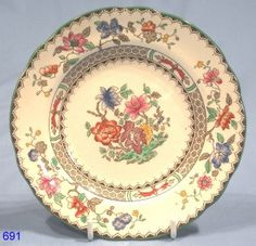 Copeland Spode Chinese Rose Tea Plate