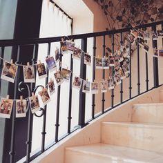 結婚式場の階段スペースを可愛く飾り付ける方法まとめ | marry[マリー] Stairs, Wedding, Flower, Decoration, Party, Photos, Home Decor, Valentines Day Weddings, Decor