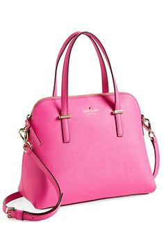 kate spade new york 'cedar street - maise' satchel True Vivid Snapdragon One Size