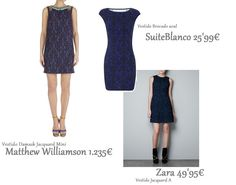 clones de moda matthew williamson - zara  - suiteblanco 2012