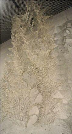 Ruth Asawa's crocheted wire art