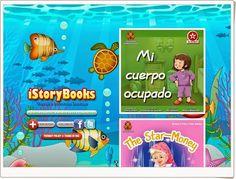 """""""iStoryBooks"""" es una página que ofrece la oportunidad de leer, ver y escuchar libros infantiles en inglés y español. Esl, Teaching Ideas, China, Digital, Reading, Books, Baby, Kid Books, Primary English"""