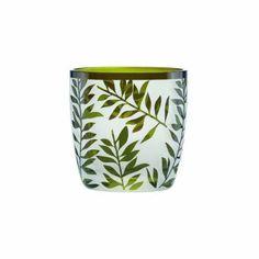 Lenox Botanical Boutique 3-Inch Crystal Votives, Set of 3