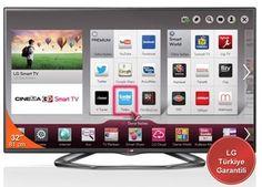 LG 32LA620S DVB-S 3D FULL HD SMART LED TV + 4 GÖZLÜK
