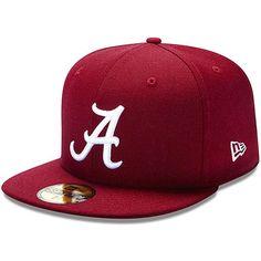 8914b92d43f4a New Era Alabama Crimson Tide Crimson Fitted Hat