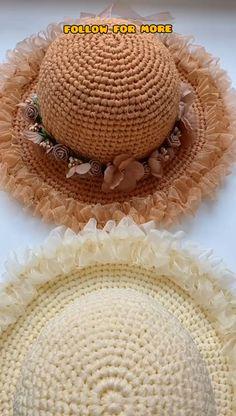 Blog Crochet, Crochet Design, Crochet Videos, Free Crochet, Easy Crochet Projects, Crochet Patterns For Beginners, Knitting For Beginners, Crochet Crafts, Easy Knitting
