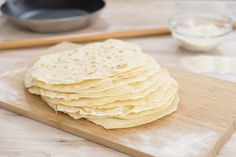 Weizentortillas Grundrezept / Wraps / Basic Rezept