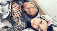 Monami Frost and her husband ❄️❄️❄️❄️❄️