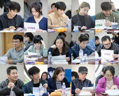 Take a look at Ji Sung, Hyeri, Minhyuk and more at first script reading of 'Ddanddara'! | allkpop.com