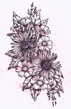 floral tattoo - Google-søk