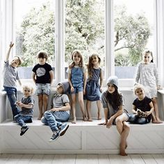Kids in I dig denim, Fred perry, NUNUNU, Tuss and NICO.NICO Photo shoot for Hipkin, photography by Derek Swalwell