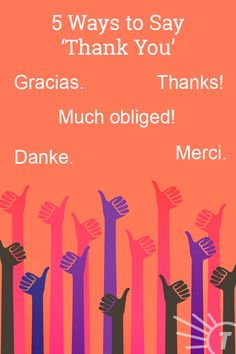 Writing those thank you notes for your wedding, graduation, etc. Pin for some ideas to really make them sing! Synonyms For Great, Sms Language, Improve Your Vocabulary, World Languages, Word Of The Day, Idioms, Thank You Notes, Learn English