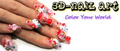Whoa.  Maybe this will be your next 3-D nail art adventure hahaha!