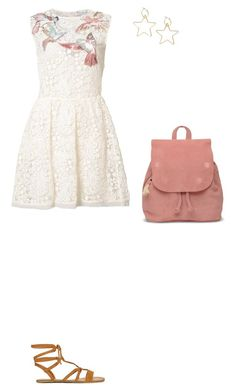"""""""Untitled 287#"""" by haruhikurosaki-demon ❤ liked on Polyvore featuring RED Valentino and TOMS"""