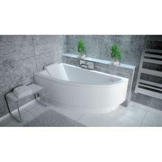 Bathroom Layout Plans, Small Bathroom Layout, Narrow Bathroom, Attic Bathroom, Bathroom Interior, Bathrooms, Mini Bathtub, Small Bathtub, Corner Bathtub