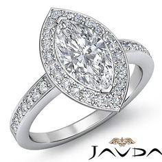 Marquise Diamond Solid Antique Style Engagement Ring EGL G VS2 Platinum 950 2 Ct | eBay