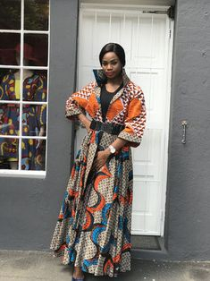 African Print Fashion in South Africa Johannesburg - chic-and-posh African Print Dresses, African Print Fashion, African Fashion Dresses, African Dress, Fashion Prints, Fashion Outfits, Womens Fashion, African Outfits, Casual Dresses For Women