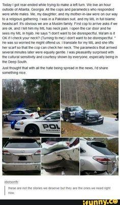 Cops aren't all bad, not even close