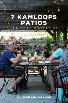 Patios are best for basking in the summer sun, enjoying sips and eats, and reveling in the outdoor views from your seat. When visiting Kamloops, be sure to cross these 7 patios off your bucket list. Cider Making, Summer Bucket Lists, Unique Recipes, Summer Sun, Outdoor Decor, Courtyards