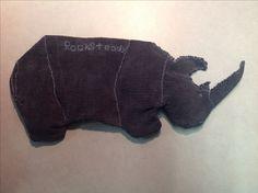 Rocksteady dog toy