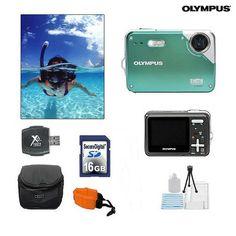 Olympus Waterproof Digital Outdoor Camera with Accessories at 56% Savings off Retail!
