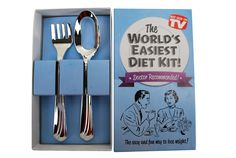 Big Mouth Toys World's Easiest Diet Gag Gift Kit | Price : $6.42