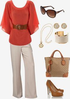 Work Outfits | Casual Business  Kimono Top, Satin pants, DOLCE & GABBANA shoes, Gucci, H&M Bracelet, Michael Michael Kors sunglasses  by lorielue