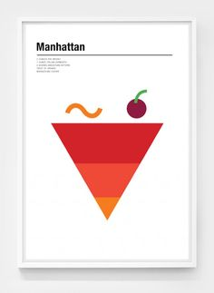 Cocktails Posters by Nick Barclay