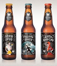 Grimm Brothers Brewhouse - TheDieline.com: Package Design.