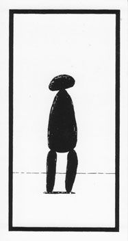 from the fantod pack by edward gorey