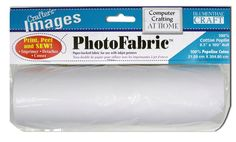 Crafter's Images Photo Fabric 100% Silk Habotai Roll, , hi-res