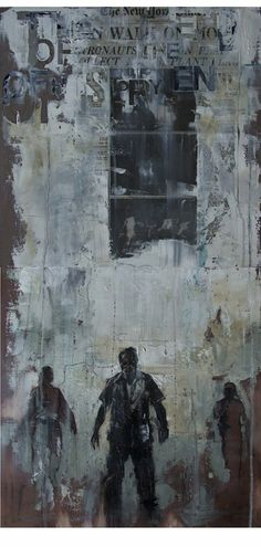Artist :Guy Denning  I am in love with the coldness but am I the only one who sees hope?