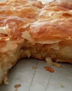 Πατατόπιτα - Elpidas Little Corner Potato Pie, Spanakopita, Food And Drink, Potatoes, Ethnic Recipes, Potato