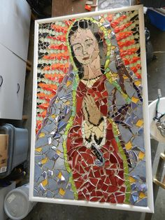 Our Lady of Guadalupe WIP by picksnoz, via Flickr