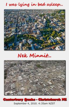 """""""I was lying in bed asleep."""" Before and after photos of my home town Christchurch NZ Mine too South New Zealand, New Zealand Cities, New Zealand Earthquake, Earthquake And Tsunami, Broken City, Christchurch New Zealand, 2nd City"""