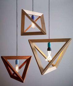 Coup de cœur : Des lampes géométriques