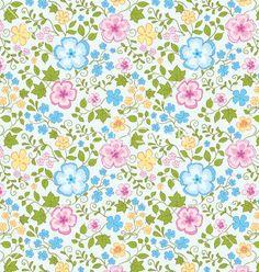 Flowers pattern vector by Marijaka on VectorStock®