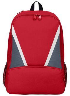 20달러 노리뷰 Augusta Sportswear Plastic Hardware Backpack, Red/ Graphite/ White, One Size