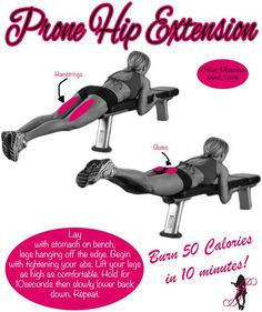 Check out this Great Butt Toning Exercise that you can add to your workout today! Perfect for summer! REPIN then CLICK to read the proper way to do this exercise: http://www.flaviliciousfitness.com/blog/2013/05/21/tush-tightening-hip-extenion/