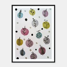 leaves repeat pattern Framed poster Frame It, Repeating Patterns, Wall Mount, Leaves, Hero, Prints, Pictures, Design, Frames For Posters
