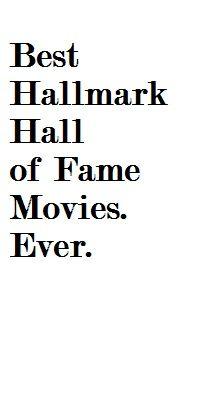 Hallmark reserves the best stories for Hallmark Hall of Fame productions. #hallmark #movies