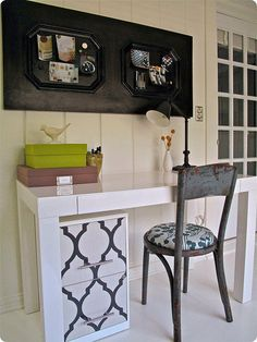 Painted Filing Cabinet