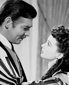 Gone with the Wind......Frankly my dear, I don't give a damn !....... One ofmy favorite movie and qoutes